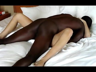 Another Gorgeous Blonde Taking Bareback BBC