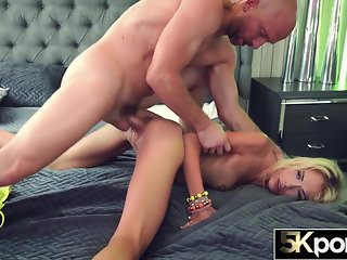 5KPORN Sky Pierce Creampied In Rough Fuck