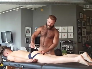 teddy bear massage
