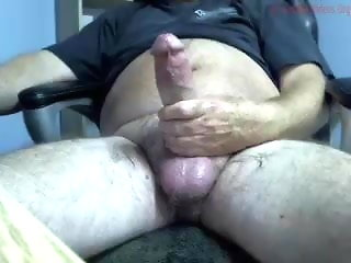 big dicked bear shoots his thick cum