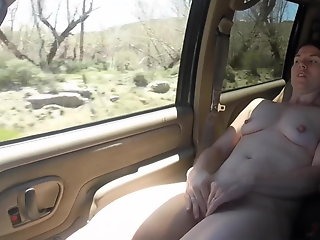 Road trip flashing & Sex