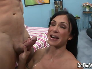 Do The Wife - Wives Taking Cumshots Compilation Part 1