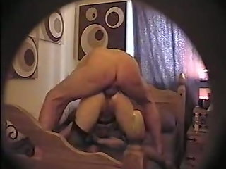 Whore Jane DP Bed Post In Pussy Cock In Arse Hole