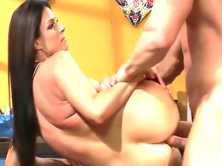 Whore Stepmother Gets Anal With Son