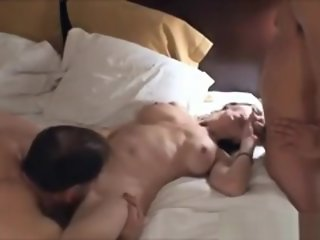 AMWF Husband, Hot Wife and Asian