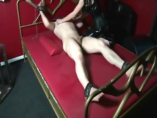 German Mistress F/M tickling