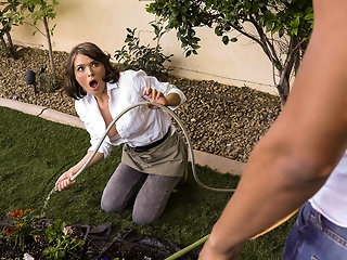 Krissy Lynn & Ricky Johnson in The Voyeur Next Door: Part 3 - BRAZZERS