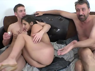 Abella Danger bts with Markus Dupree and Steve Holmes