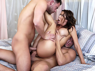 Alexis Fawx & Seth Gamble & Xander Corvus in The Voyeur Next Door: Part 4 - BRAZZERS
