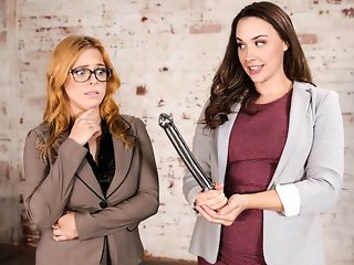 Penny Pax & Chanel Preston in Reluctant Realtor, Scene #01 - GirlsWay