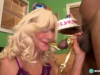 Summeran's Birthday Party Continues...In Her Ass! - 60PlusMilfs