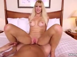 53 year old Busty blonde cougar. anal sex