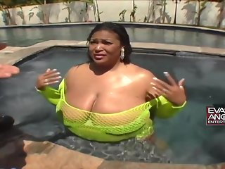 Sasha Bra is a big titted, ebony plumper who likes to spread up and get fucked