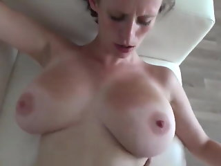 26 year old girl with big saggy tits on casting