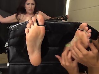 Never Trust A Pretty Face Feet Tickling