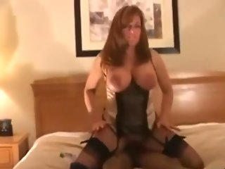 Horny MILF destroyed by BBC - Full video at GoHotCamGirls.com