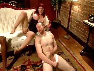 Hotwife fucks the milk man (hubby helps)