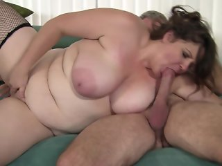 Chubby wife takes cock like candy.mp4
