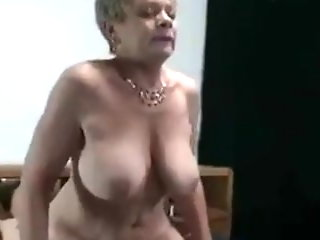 Nasty Granny Fucks a Young Man