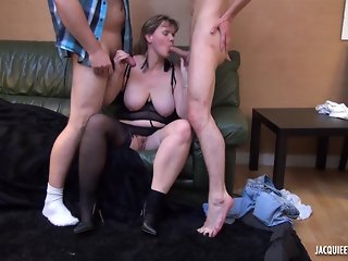 Chubby milf wife wants a younger stranger cock